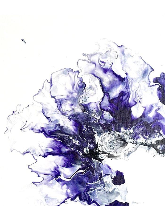 CanaryInACoalMineArt_PurpleHeart_Painting@2x