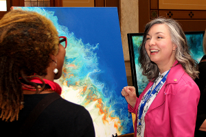 Artwork by local artists will soon be displayed at the Statehouse.
